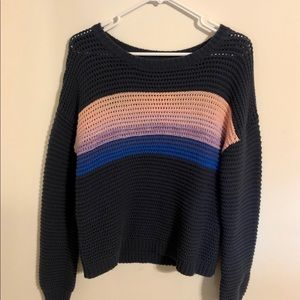 Aeropostale soft large knit sweater